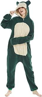 Unisex Flannel Adult Animal Cosplay Pajamas Onesies Halloween Costume for Womens