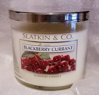 Slatkin & Company BlackBerry Currant Scented Candle 14.5 Ounces