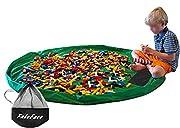 Materiale: nylon. Diametro: ca. 150cm. Le dimensioni dell'articolo sono sufficienti per contenere i giocattoli dei bambini. Tappeto da gioco e borsa portagiocattoli tutto in uno. Questo prodotto può essere utilizzato come borsone per ricollocare tut...
