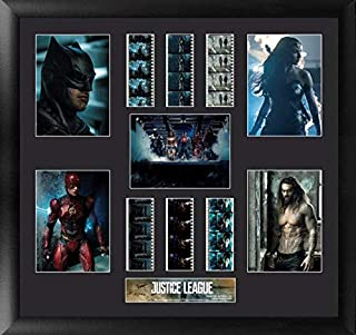 Trend Setters Justice League Movie – Limited Edition and Numbered – Film Cells Presentation with Authentic 35mm Film Clips