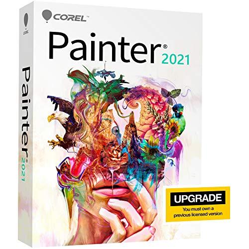 COREL Painter 2021 *Upgrade* DE / EN / FR für Windows 10 / Mac ab 10.14 - Slim-Case