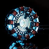Hvlystory MK1 Acrylic Tony DIY Arc Reactor Lamp Arcylic Kit Illuminant LED Flash Light Set