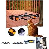 Taiguang Funny Plastic Track Ping Pong Ball Sucker Pet Kitten Cat Toy Interactive Gift - Random Color