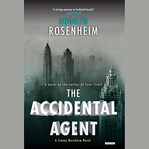 The Accidental Agent audiobook cover art