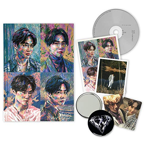 EXO SUHO 1st Mini Album - SELF-PORTRAIT [ Archive #2 ver. ] CD + Booklet + Postcard Set + Photocards + FREE GIFT / K-POP Sealed