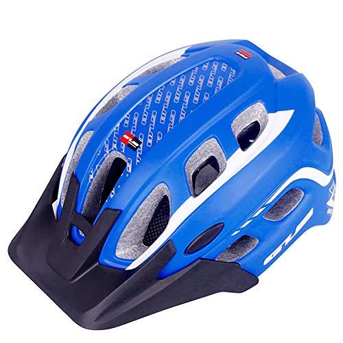 NVBXDF - Casco para Bicicleta de montaña (57-61 cm, Unisex)