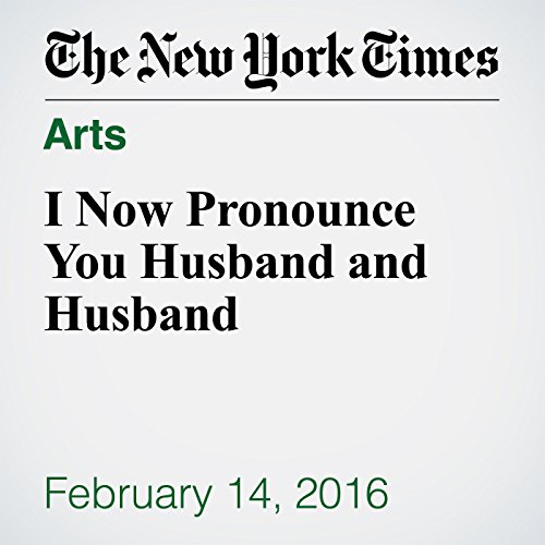 I Now Pronounce You Husband and Husband cover art