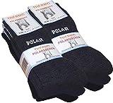 6 pares de calcetines polares, totalmente de rizo, gruesos y cálidos