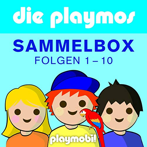 Die Playmos 1-10. Boxenset audiobook cover art