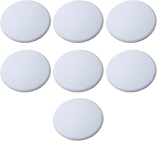 Strongest Wall Door Stopper Set- 7 Pieces of White Silicone Door Knob Wall Shield, Wall Protector for Door Handle. Door Bumper Wall Protector.