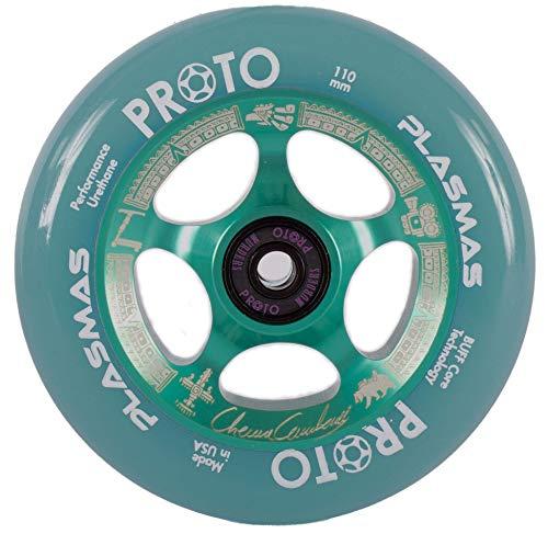 Proto Plasma Stunt Scooter 110 mm (Chema Cardenas Signature) Teal/Pu Teal transp