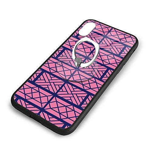 Chippendale Blau auf Pink Phone Case...