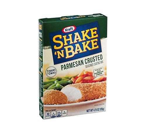 Kraft Shake 'n Bake Parmesan Crusted Seasoned Coating Mix, 129 ml