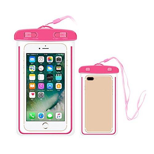 tyrrdtrd Pochette étanche et Durable pour téléphone Portable, Rose