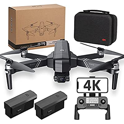 F11 4K PRO Drones with Camera for Adults 4K,2-Axis Gimbal,56min long Flight Time,GPS Auto Return Home,5GHz FPV Transmission,EIS Anti-Shake,Long Control Range, Brushless Motor, Auto Hover from YKRC