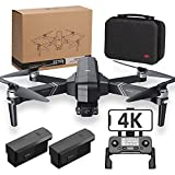 F11 4K PRO Drones with Camera for Adults 4K,2-Axis Gimbal,56min long Flight Time,GPS Auto Return Home,5GHz FPV Transmission,EIS Anti-Shake,Long Control Range, Brushless Motor, Auto Hover