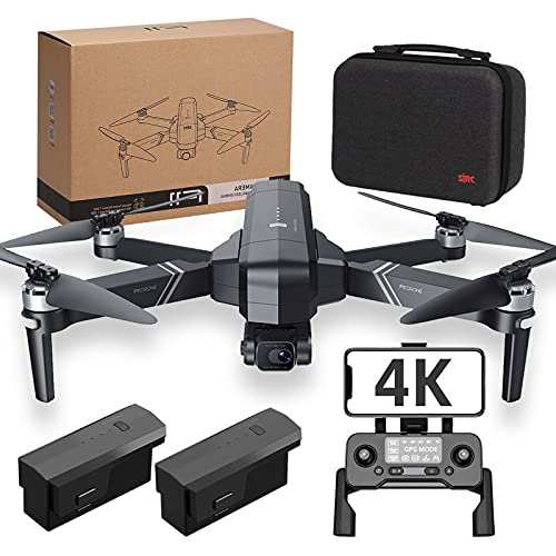 F11 4K PRO Drones 2-Axis Gimbal Camera for Adults,GPS Quadcopter 56min Flight Time, Auto Return Home,5G WiFi Transmission, FPV Drones Camera, Long Control Range, Brushless Motor, Auto Hover