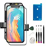 Oli & Ode for iPhone XR Screen Replacement iPhone XR Replacement Screen iPhone XR LCD Screen Replacement LCD Digitizer Assembly with 3D Touch+Screen Protector+Waterproof Glue A1984 A2105 A2106 A2108