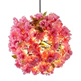 &Chandelier Chandelier Cherry Blossom Chandelier Simple Decorative Plant Lights Wedding Room Aisle Cafe Lamps%Chandeliers