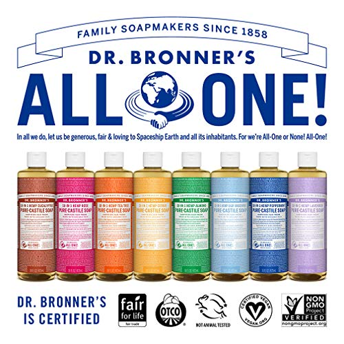 Dr. Bronner's Magic Soap Organic Baby-Mild Pure Castile Soap Liquid, 16-Ounce