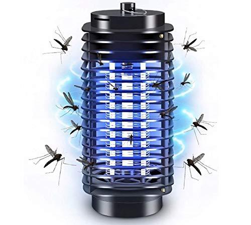 ADGO Lámpara LED eléctrica portátil para mosquitos, 220 V, repelente de mosquitos y mosquitos, lámpara de luz ultravioleta, mata insectos, trampa para mosquitos
