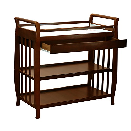 Athena Nadia Baby Changing Table, Espresso
