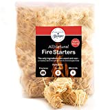 Fire Starter Tumbleweed 36 Firestarter Nuggets Get Your Charcoal Fire Going Indoors/Outdoors Ideal for Barbeque Grills (Kamado, Green Egg) Pit Smokers, Wood Stoves, Campfires Fireplaces Eco-Friendly