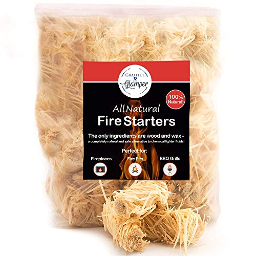 Read About Fire Starter Tumbleweed 36 Firestarter Nuggets Get Your Charcoal Fire Going Indoors/Outdo...