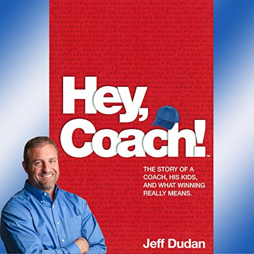 Hey, Coach! audiobook cover art