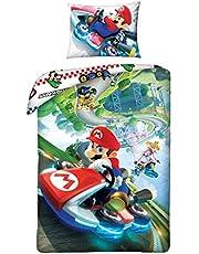 Beddengoed Super Mario Bros 140x200 cm + 70x90 cm dekbedovertrek 100% katoen