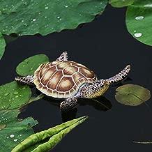 Parsley. Creative Resin Floating Tortoise Statue Outdoor Garden Decorative Cute Sea Turtle Sculpture for Home Garden Decor Ornament