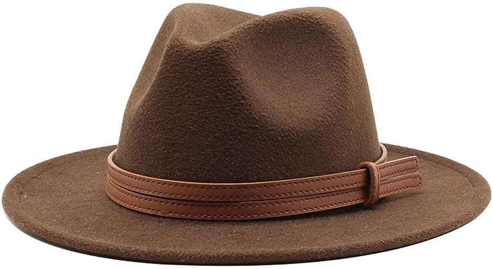 Ranking TOP20 Women's and Men's Fedora Mesa Mall Hat Classic Elegant Panama Wide Brim Wo