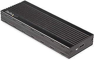 StarTech.com USB-C 10Gbps to M.2 NVMe SSD Enclosure - Portable External M.2 NGFF PCIe Aluminum Case - 1GB/s Read/Write - S...