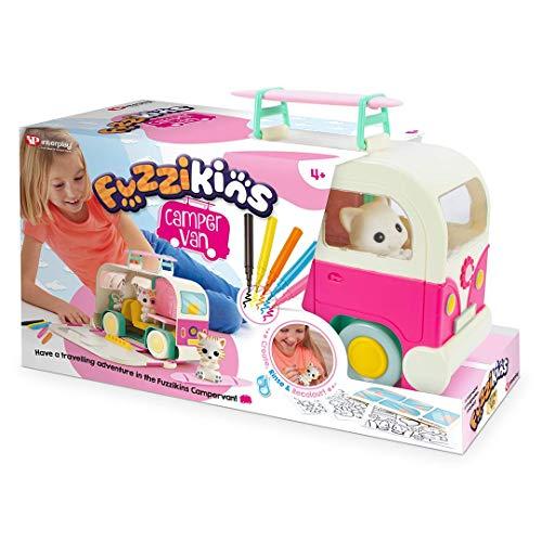 Fuzzikins FF005 Campervan Cats Carrycase, Multicolor