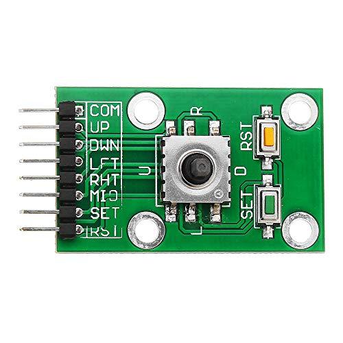 LKK-KK 10pcs Pentad Direction Botón de navegación Modulemcu AVR 5D Rocker Joystick Juego Pulsador para Arduino - Productos Que Trabajan con Placas arduinas prescritas