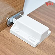 SHHOMELL Cabinet Catches Invisibility Push to Open Magnetic Door Drawer Cabinet Catch Touch Latch Cupboard Door Accessory