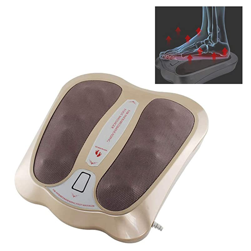 できたに応じてバランスエレクトリックスパフットマッサージ機循環振動血液ブースター赤外線電磁ホームフットマッサージャーギフト,金