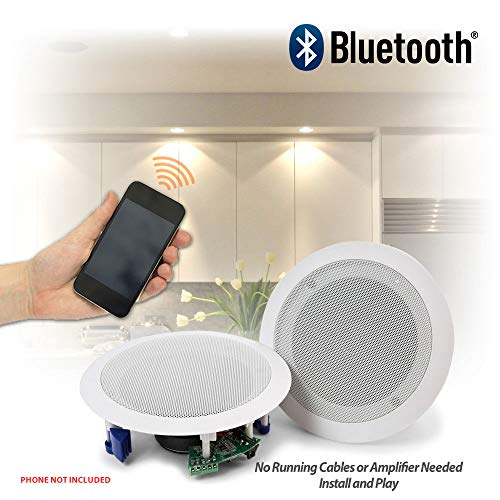 Plafond Speakers 60 W Draadloze Bluetooth Audio Streaming Home Audio Keuken