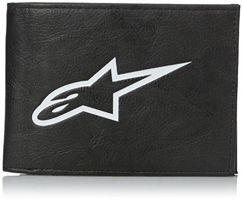 Alpinestars Equip Bifold Wallet - Monedero para Hombre, Talla única, Color Negro