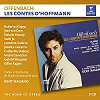 Offenbach: Les Contes d'Hoffmann (3CD) by Kent Nagano