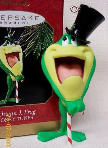 Hallmark Keepsake Ornament Looney Tunes: Michigan Limited time for free shipping J. Frog In a popularity 1997