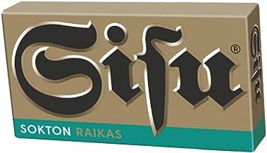 24 Boxes x 36g of Leaf Sisu Raikas Sokton - Original - Finnish - Sugar Free - Salmiak - Licorice - Pastilles - Lozenges - ...