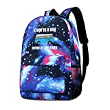 Living In A Van Down By The River Galaxy Casual Daypack - Unisex Backpack Shoulder Bag For School Travel