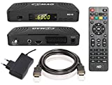 COMAG HD10 Digitaler HD Sat Receiver (Full HD, HDTV, DVB-S2, HDMI, SCART, PVR-Ready, USB 2.0) schwarz