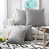 Kevin Textile Decorative Linen Throw Pillow Covers Cushion Case New 2 Tone Star Pillowcase...