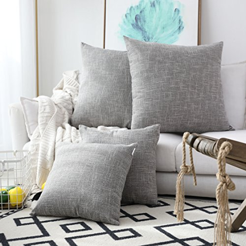 Our #5 Pick is the Kevin Textile Decorative Linen Throw Pillow Covers