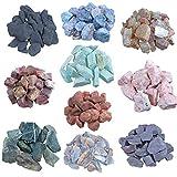Große Mischung Wassersteine 1 Kg Edelsteinwasser Rohsteine 10 verschiedene Sorten
