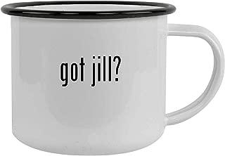 got jill? - 12oz Stainless Steel Camping Mug, Black