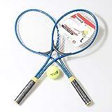 HLKJ 2 Pz/Set Racchetta da Tennis Adolescente Adulto Chindren per Allenamento Tennis Materiale di Alta qualità Palla da Allenamento per Tennis