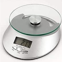 Balança digital eletrônica de cozinha com Relógio 1g à 5kg CBRN02399